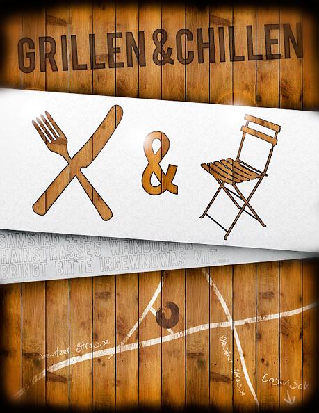 grillen und chillen by utzel butzel on deviantart. Black Bedroom Furniture Sets. Home Design Ideas