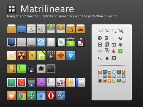 Matrilineare Icon Theme