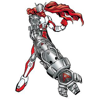 Justimon Ranger: Red by Gunblade7303