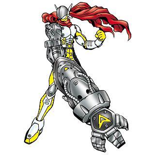 Justimon Ranger: Yellow by Gunblade7303