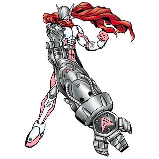 Justimon Ranger: Pink by Gunblade7303