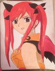 Erza Scarlet (Coloured)