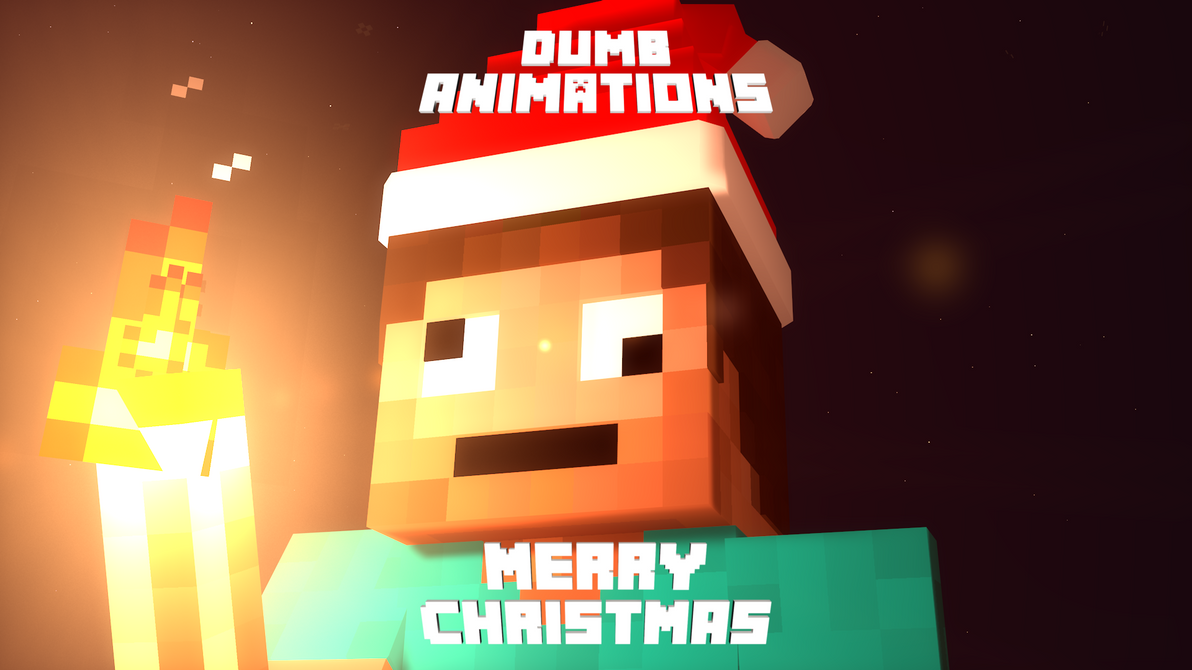 Great Wallpaper Minecraft Christmas - christmas_wallpaper_by_dumbanimations-dbvdd47  Gallery_43596.png