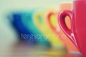 Rainbow cups by spaziochiuso