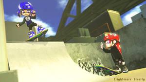 New Skate Spot by NightmareRarity1