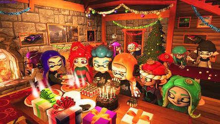 Ika's Birthday Present! by NightmareRarity1