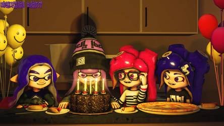 Violet's Birthday Present by NightmareRarity1