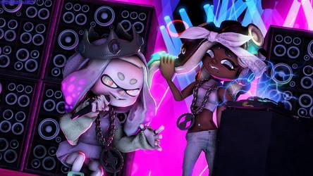 Marina And Pearl by NightmareRarity1