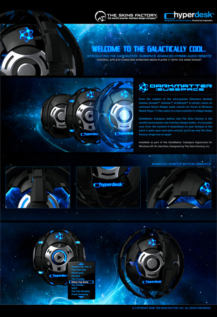 DarkMatter: Subspace Remote by skinsfactory
