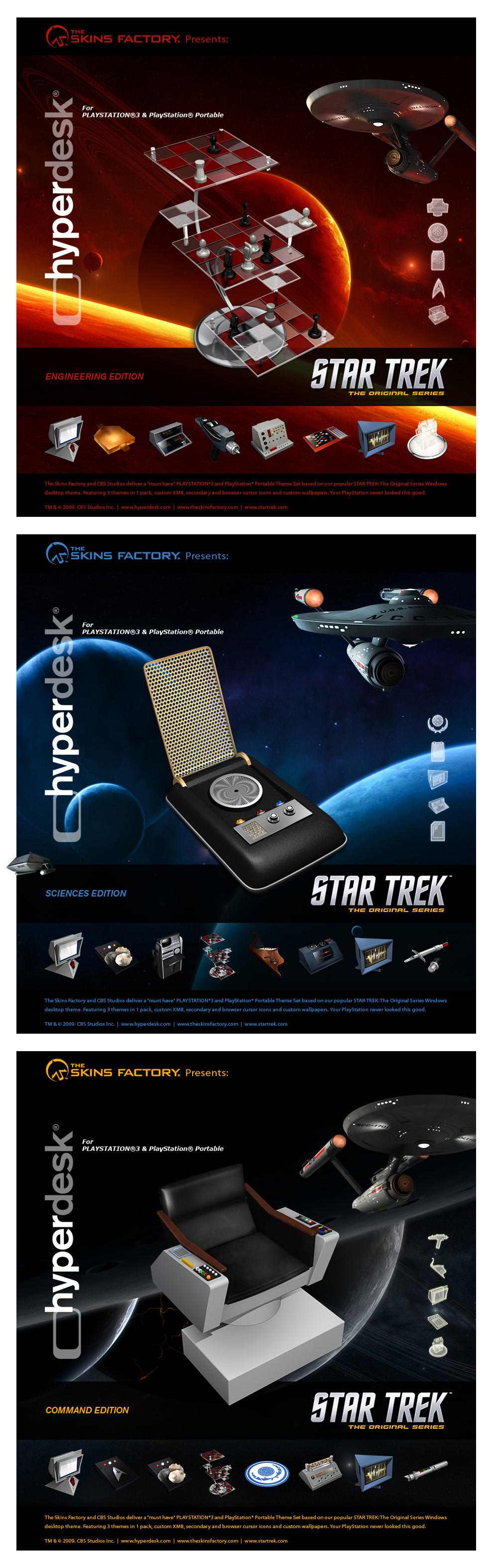 Star Trek PlayStation Pack by skinsfactory