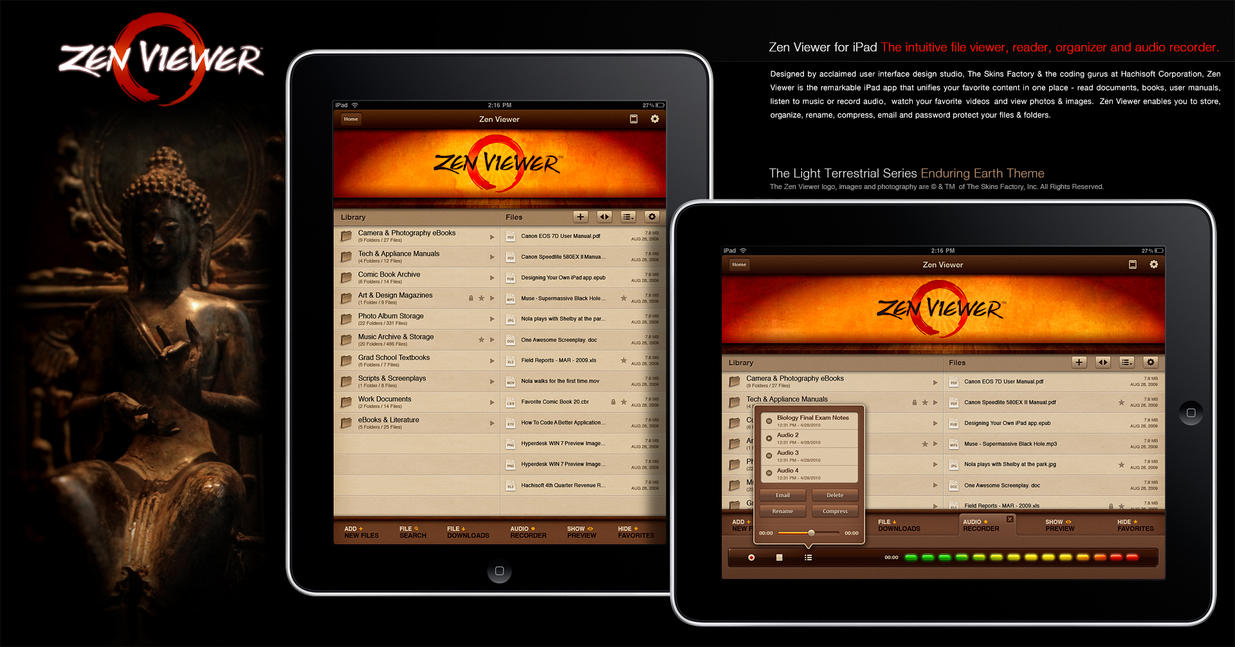 Zen Viewer: On the App Store by skinsfactory
