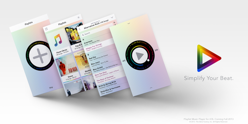 Playlist Music Player for iOS: Lux Theme