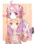 Yui and Ryuu
