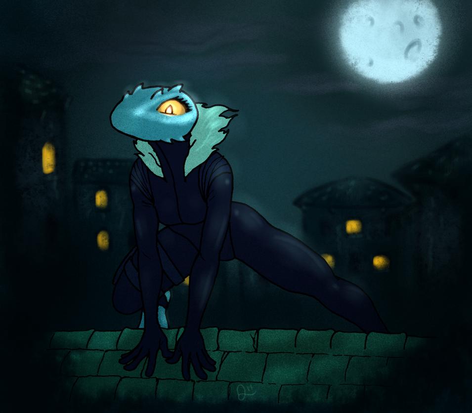 SilverMoon Serpent by QuintonQuill on DeviantArt