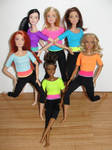 Barbie Made to Move Dolls