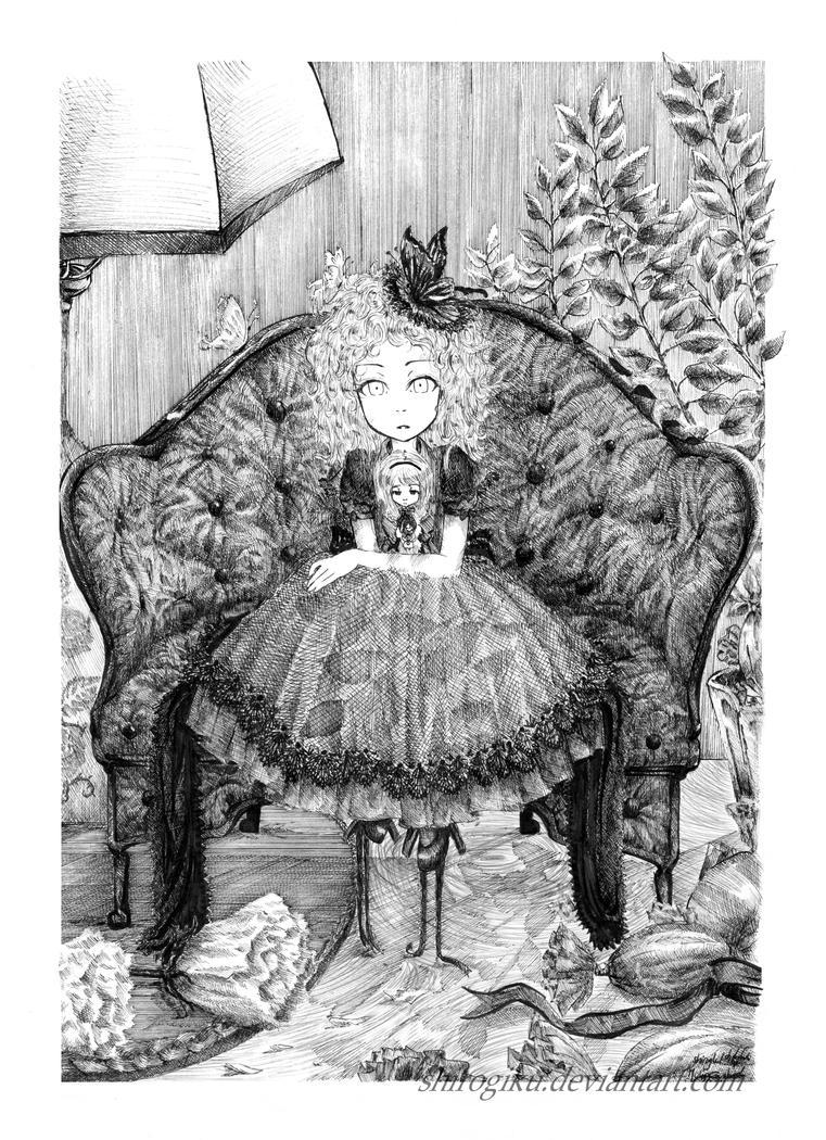 Chrysanthemum Doll by shirogiku