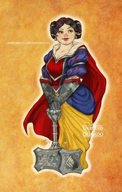 Warcraft meets Disney - Snow White by LiberLibelula