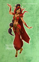 Disney meets Warcraft - Jasmine by LiberLibelula