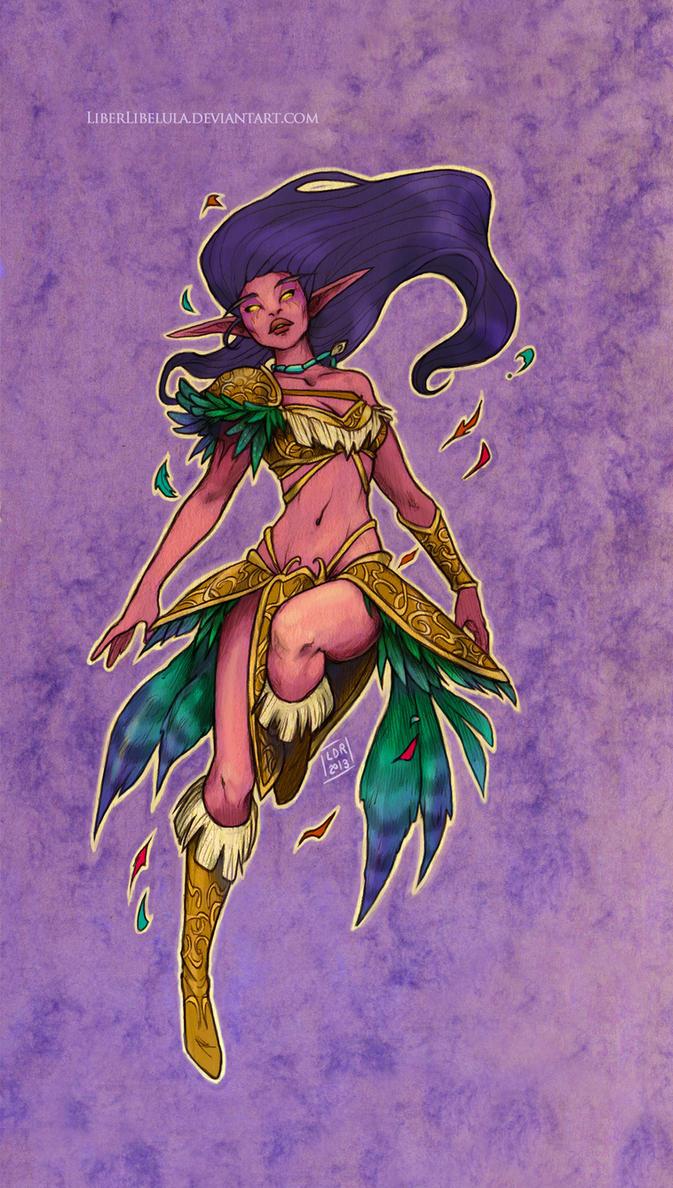 Disney meets Warcraft - Pocahontas by LiberLibelula