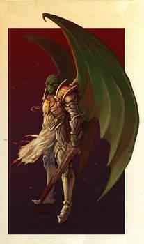 Commission - Paladin of Sarenrae