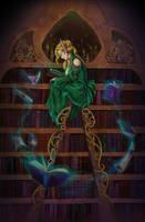 Commission - The Arcanist by LiberLibelula