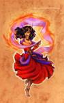 Disney meets Warcraft - Hellfire Esmeralda