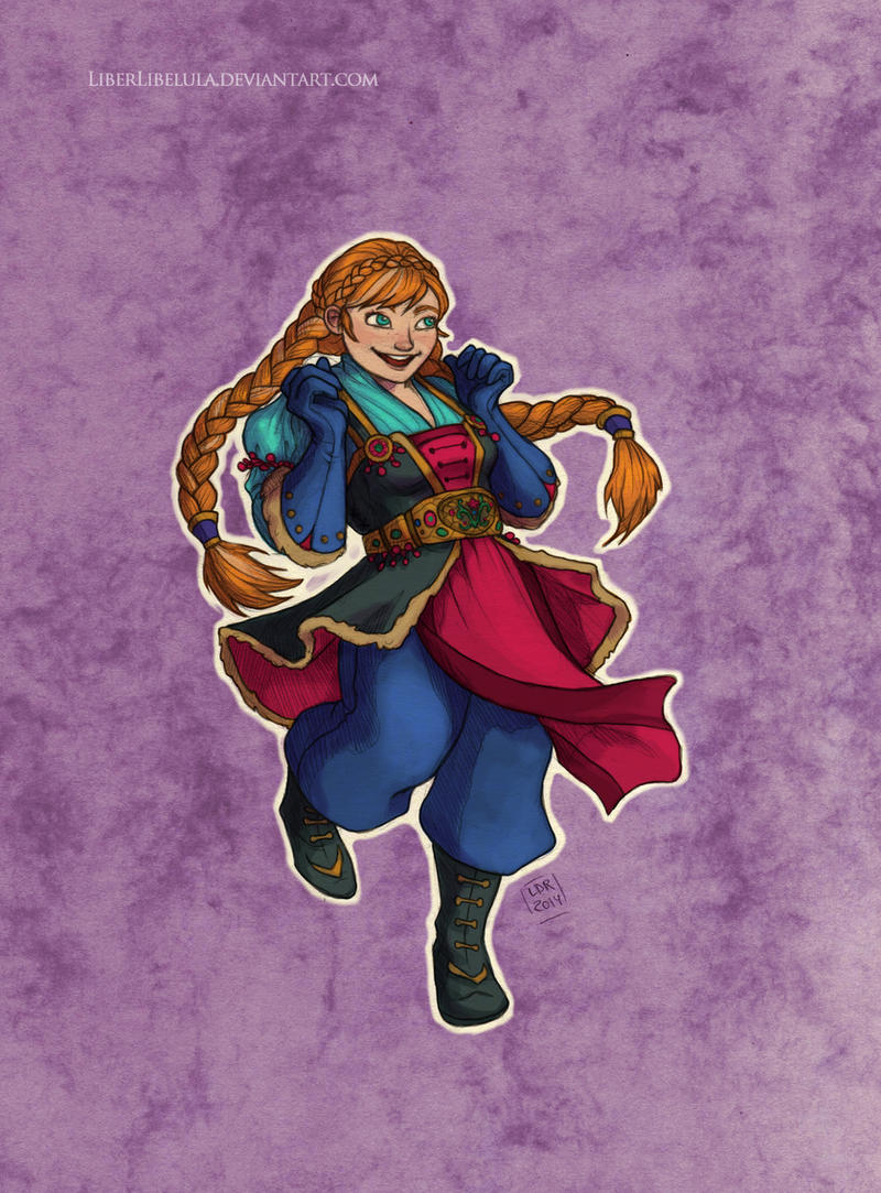 Disney meets Warcraft - Anna by LiberLibelula