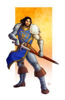 Commission - Stormwind Soldier by LiberLibelula