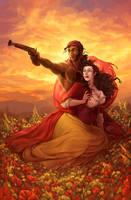 Pepita and the Bandolero (no letters) by LiberLibelula