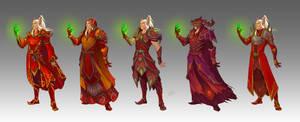 Commission - Tal'enthiel's Wardrobe
