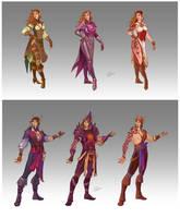 Commission - Pirates' Wardrobe