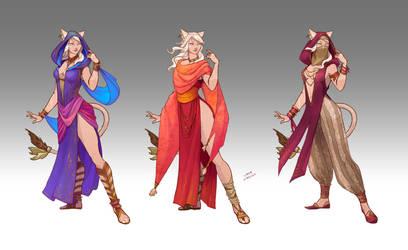 Commission - Jahyri's Wardrobe by LiberLibelula