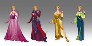 Commission - Ellithiandra's wardrobe by LiberLibelula
