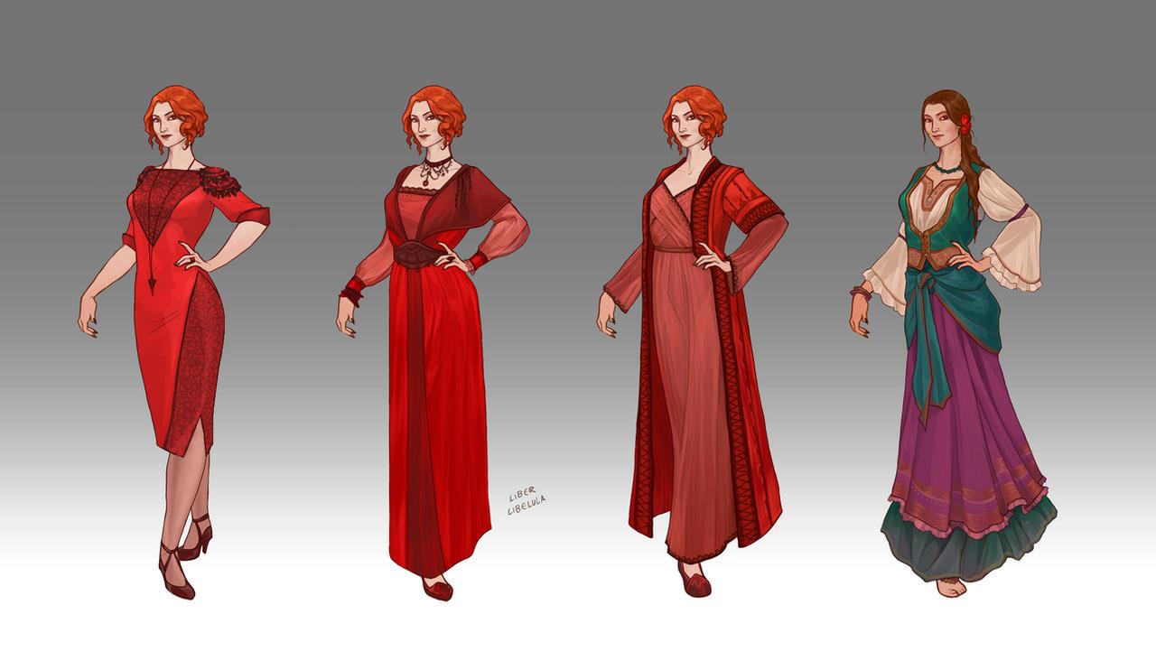 Commission Lilith 39 S Wardrobe By Liberlibelula On Deviantart
