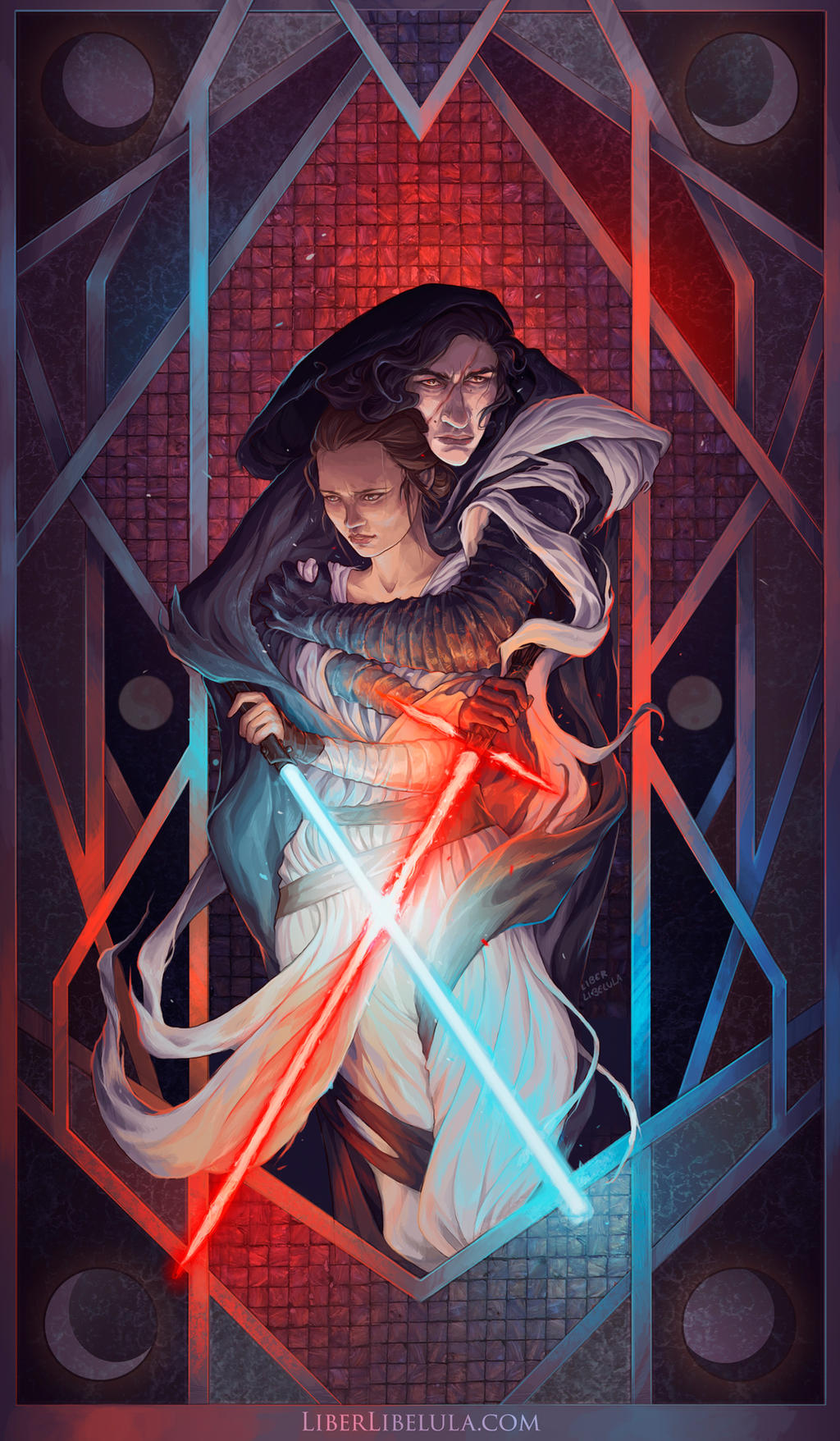 The Balance of the Force - Reylo by LiberLibelula