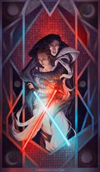 The Balance of the Force - Reylo by LiberLibelula