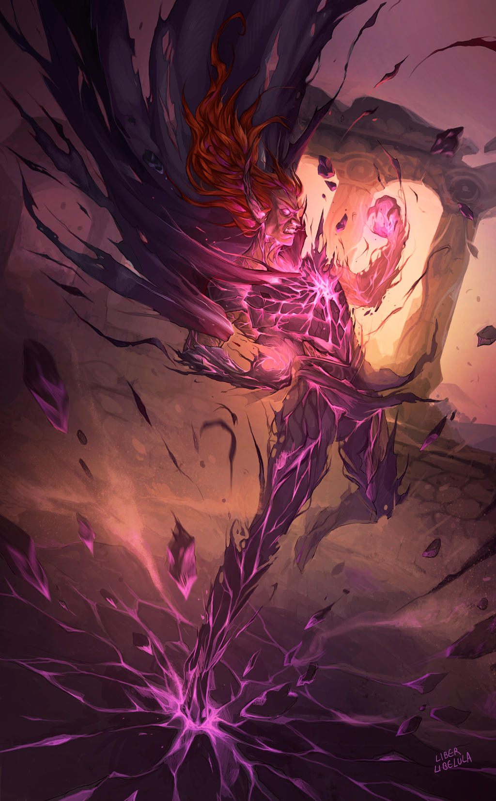 Commission - Aratheo's doom by LiberLibelula