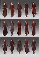 NecromancerAU Gadon's wardrobe by LiberLibelula