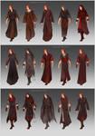 NecromancerAU Gadon's wardrobe