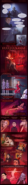 El tango de Huxanne by LiberLibelula