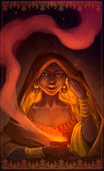 Reylo Mahabharata - Mazha by LiberLibelula