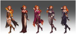 Commission - Seveythiel's wardrobe