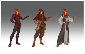 Commission - Aratheo's wardrobe by LiberLibelula