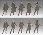 Adra's wardrobe designs