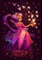 Character Design Challenge - Indian Dancer by LiberLibelula