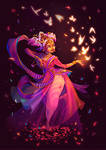 Character Design Challenge - Indian Dancer