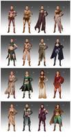 Rey's fashion sheet by LiberLibelula