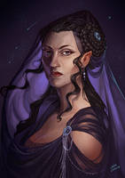 Queen Titania (with process video) by LiberLibelula
