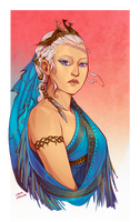 Daenerys Targaryen by LiberLibelula