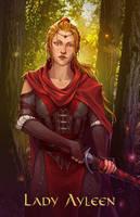 Commission - Lady Ayleen of Ribedwald by LiberLibelula